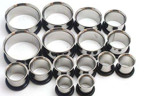 00 stainless steel plugs - 7