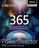 CyberLink PowerDirector 365 - 1 year subscription [PC Download]