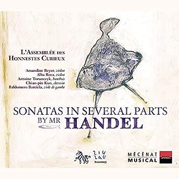 Sonatas In Several Parts by Mr. Handel