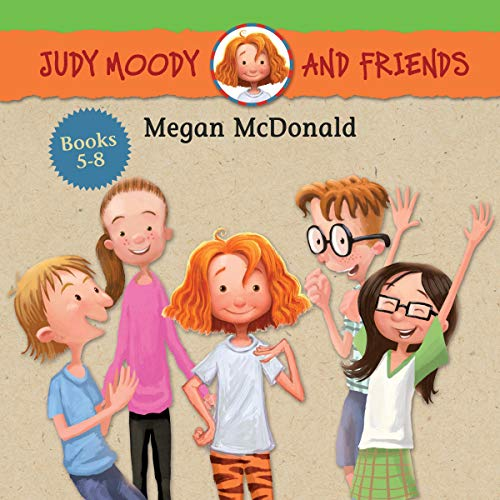 Judy Moody and Friends Collection 2 audiobook cover art