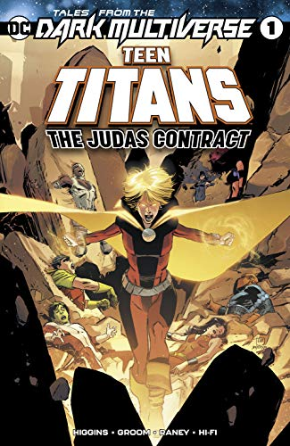 Tales from the Dark Multiverse Teen Titans Judas Contract #1 DC NM Comics Book