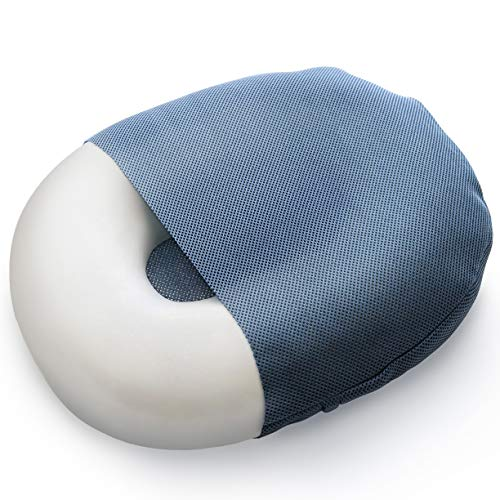Milliard Foam Donut Cushion Orthopedic Ring Pillow with Removable Cover, Large, 20x15 for Hemorrhoid, Coccyx, Sciatic Nerve, Pregnancy and Tailbone Pain