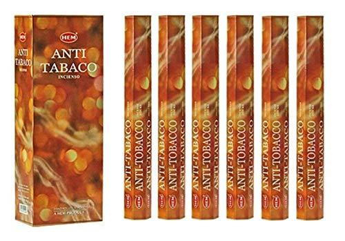 Incienso Anti-Tabac, lote de 100 varillas marca HEM