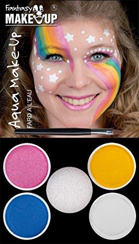 Panelize Einhorn Schminke Aqua Make up 4 Farben