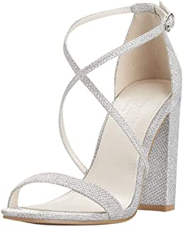 Best silver strappy block heels Reviews