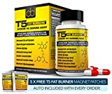 Fat Burners : Strongest Legal Diet & Weight Loss Pills (1 Month Supply) + 5 FREE T5 FAT BURNING PATCHES by Biogen Health Science