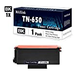 Compatible 1-Pack Black TN-650 High Yield Toner Cartridge Replacement for Brother HL-5250DN/DNT,HL-5280DW,HL-5350DN/DNLT,HL-5380DN;MFC-8370,MFC-8680DN,MFC-8880DN;DCP-8060,DCP-8080DN Printers.