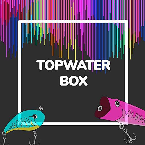 MFB TOPWATER // Oberflächenköder (Kunstköder) zum Angeln auf Rapfen, Hecht und Barsch