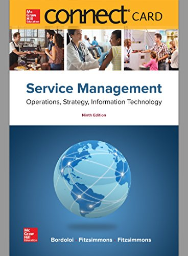 Connect Access Card for Service Management: Operations, Strategy, Information Technology