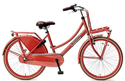 Kinder-Fahrrad Popal Daily Dutch Basic+ 24 Zoll 42 cm Mädchen 3G Rücktrittbremse Türkis