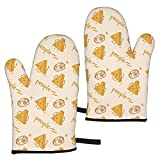 WSZOK BBQ Gloves, Kitchen Oven Gloves,Oven Mitts Heat Resistant Grill Gloves Universal Size