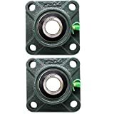 PGN - UCF204-12 Pillow Block Square Flange Mounted Bearing 3/4' Bore (2 PCS)