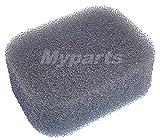 MY PARTS Filtro de aire de espuma compatible con modelos HUSQVARNA-JONSERED 18H, HT18, HT21, p/n:530029934