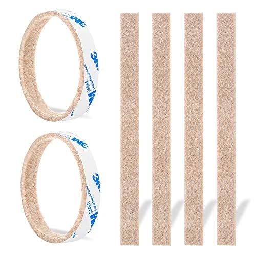 Furniture Felt Pads Strips 20pcs Pack 1/2