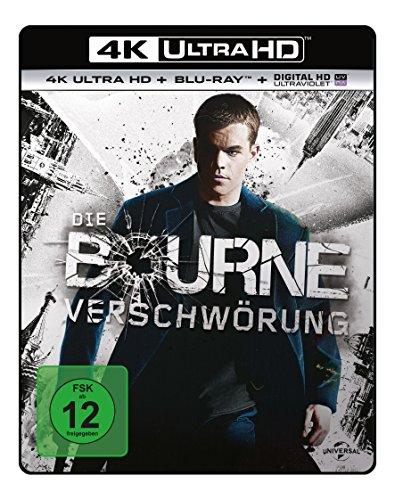 Die Bourne Verschwörung  (4K Ultra HD) (+ Blu-ray)