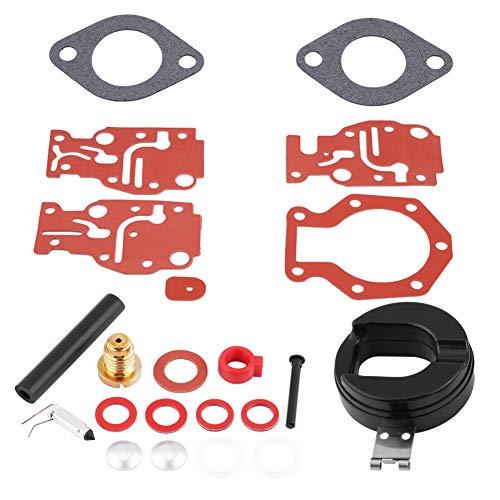 Carburatore in metallo nuovo di zecca portatile kit di ricostruzione carburatore kit di riparazione motosega kit di riparazione adatto per Johnson/Evinrude 439073 0439073