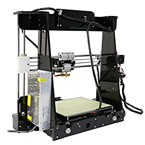 Auto Levelling Anet A8 with Included Filament - Prusa i3 DIY 3D Printer w/Self Levelling Sensor