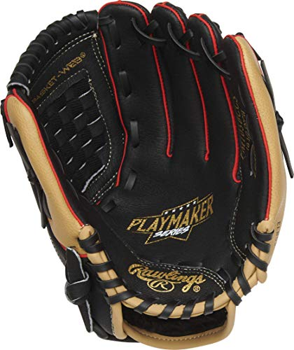 Rawlings Playmaker Youth Baseball Glove Series (10-11.5 Inch Baseball/Tball Gloves)