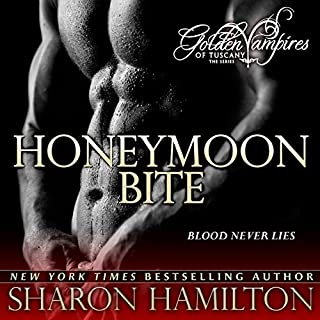Honeymoon Bite audiobook cover art
