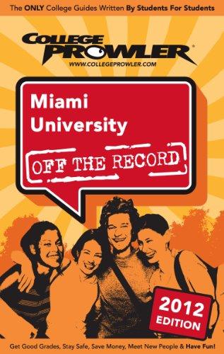 Miami University 2012 (English Edition)