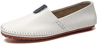Mocassins de Conduite for Les Hommes Chaussures en Cuir Slip on Haute qualité Tissus Vegan Confortable Respirant enfilage ...