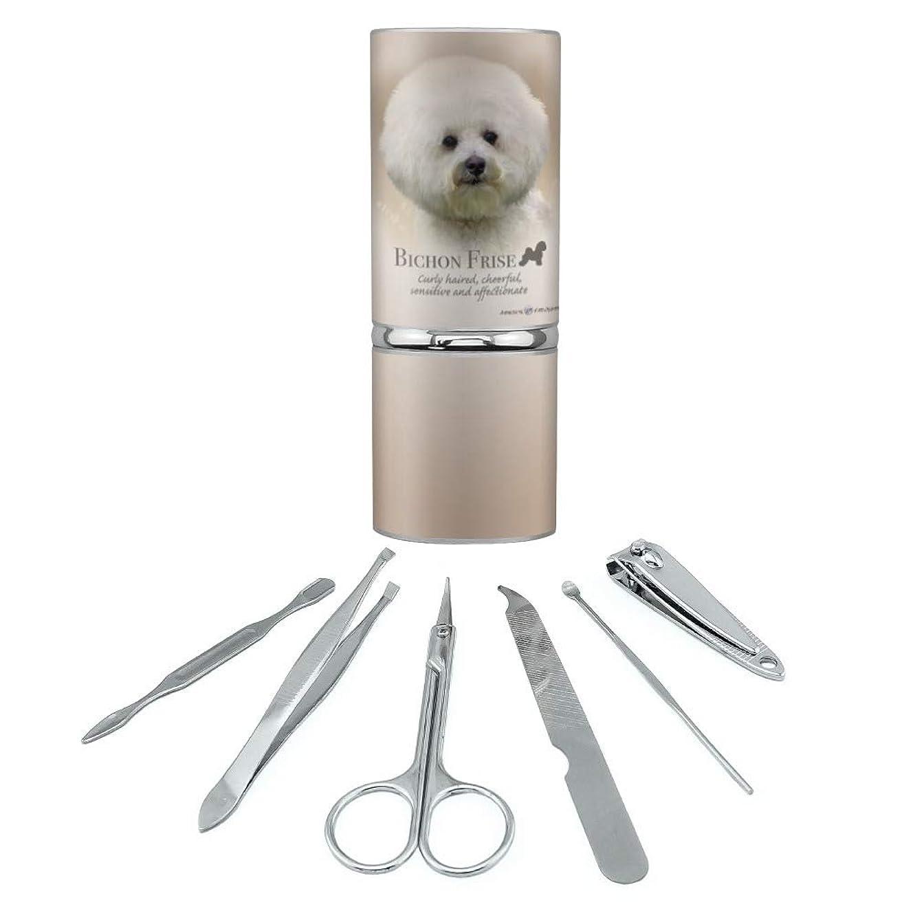 植生トピック礼拝ビション?フリーズ犬の品種ステンレススチールマニキュアペディキュアグルーミングビューティーケアトラベルキット