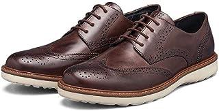 Sapato Brogue Masculino Élie 100% Couro com solado em Borraçha Tr Damasco