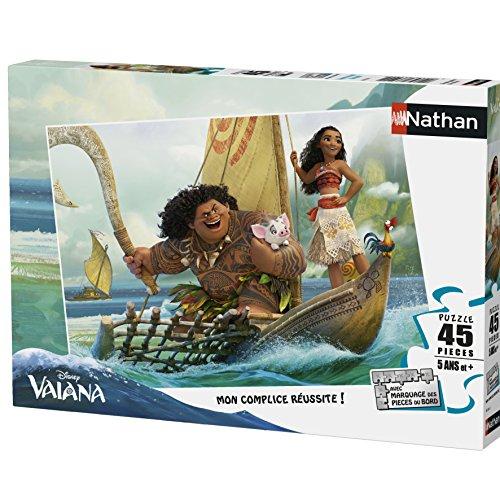 Nathan Disney Puzzle Viaje al Fin del Mundo Vaiana 45Piezas, 86536