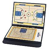 バスケットボール 作戦板 作戦ボード 作戦盤 折りたたみ 専用ペンとマグネット付き