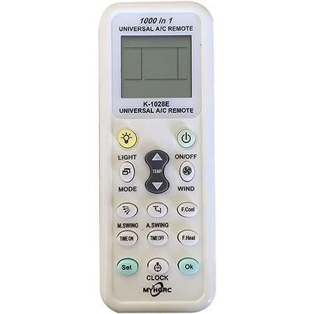 Xiaoyao24 K-100ES Telecomando universale per condizionatore daria compatibile con la maggior parte dei kit di condizionatori daria