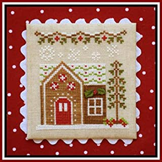 Gingerbread Village 9-Gingerbread House 6 Cross Stitch Chart
