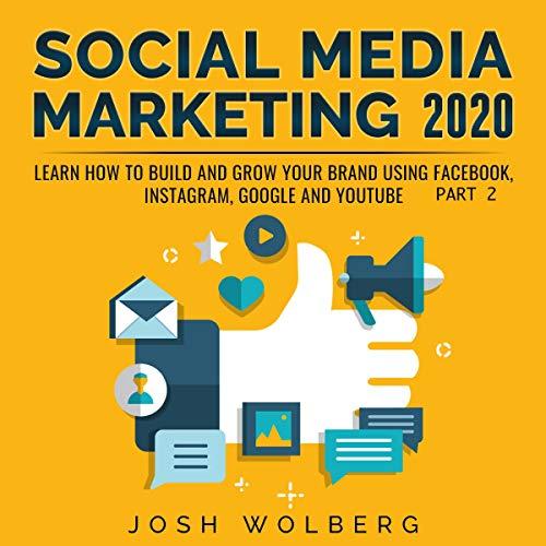 Social Media Marketing 2020 audiobook cover art