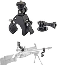 Portable Gun Mount for Gopro Hero 7 6 Espacial for Paintball Gun,Sniper Rifle Barrel and Rifle Scope