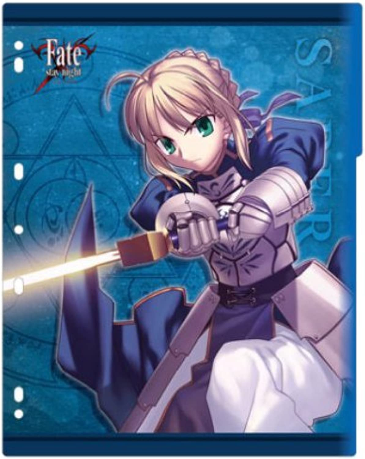 Character Binder Index Collection Fate   stay night  Saber  (japan import)