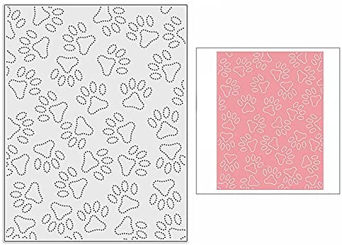 Abedul Stampin Dog Footprints Translated Cutting SALENEW very popular! for Card DIY Dies Making