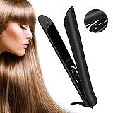 Fer à Lisser, HQQNUO 2 en1 Fer à Lisser Professionnel/Lisseur Cheveux avec Plaque Flottante Revêtement Céramique avancé 3D,...