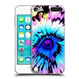 ipod 5 case tie dye - Head Case Designs Officially Licensed Haroulita Flower Tie Dye Floral Glitch 2 Soft Gel Case Compatible with Apple iPod Touch 5G 5th Gen