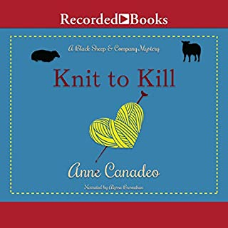 Knit to Kill audiobook cover art