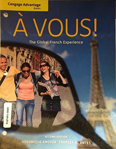 Avous! The Global French Experience 2nd Edition
