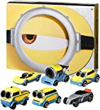Product Image of the Hot Wheels Minions Bundle 6-Pack of Vehicles 1:64 Scale Themed to Minions: The...