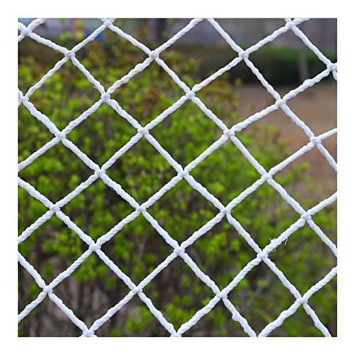 Veiligheidsnet voor kinderen, nylon kabelnet, binnen- en buitentrap, balkonleuning, kinderbeveiliging, anti-val, huisdier, beschermend hek, tuinhek, plantenbescherming, hangmat, klimnet, decoratienet