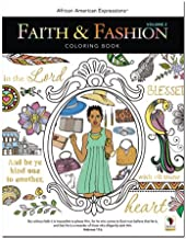 African American Expressions - Faith & Fashion Coloring Book Vol.2 (50 pages, 8.5