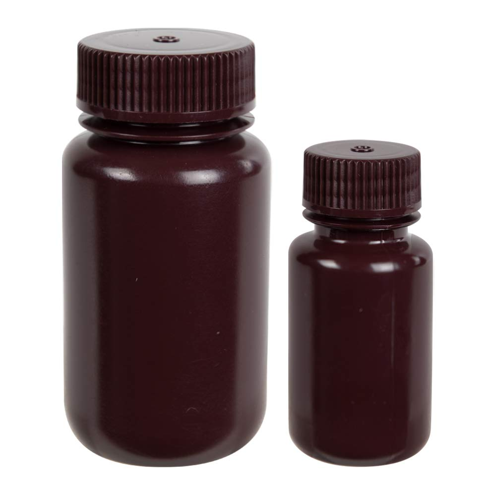 125mL Fort Worth Mall Diamond RealSeal Amber Bottles Max 71% OFF 4 Mouth Wide