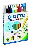 Giotto 281800 - Pastello Ast 12 Cera Strong...