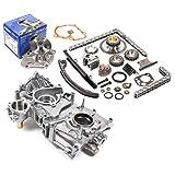 240sx ka24de timing chain kit - Fits 91-98 Nissan 2.4 DOHC 16V KA24DE Timing Chain Kit Oil Pump AISIN Water Pump