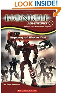 Bionicle Adventures Where the Adventure Begins... (Box Set: #1 Mystery of Metru Nui #2 Trial by Fire #3 The Darkness Below #4 Legends of Metru Nui)