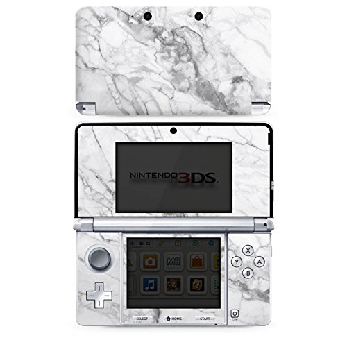 DeinDesign Skin kompatibel mit Nintendo 3 DS Folie Sticker Stein Marmor Muster
