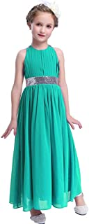 Bling Bling Sequins Chiffon Girls Dress