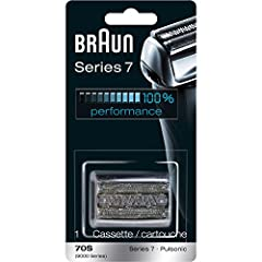 World's # 1 Foil Shaver Brand Official Electric Shaver of the NFL Replacement head fits Braun Series 7 (720, 760, 790, 799 and 797) Shaver head should be replaced every eighteen months. Replacing your razor head gives a 25% better shave. For optimum ...