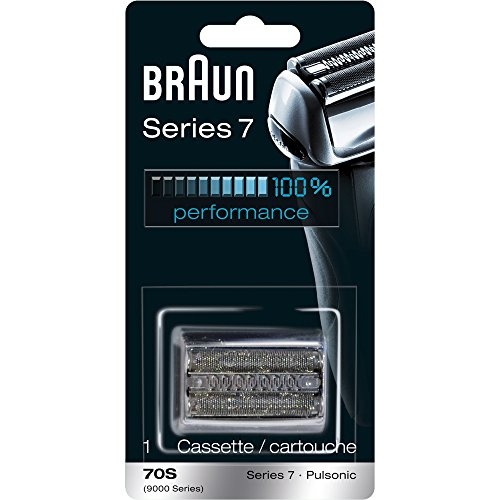 Braun Pulsonic Series 7 70S Foil & Cutter Replacement Head, Compatible with Models 790cc, 7865cc, 7899cc, 7898cc, 7893s, 760cc, 797cc, 789cc